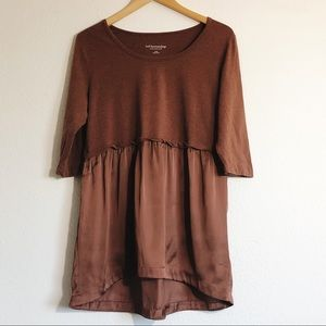 Soft Surroundings Brown Blouse Size Large